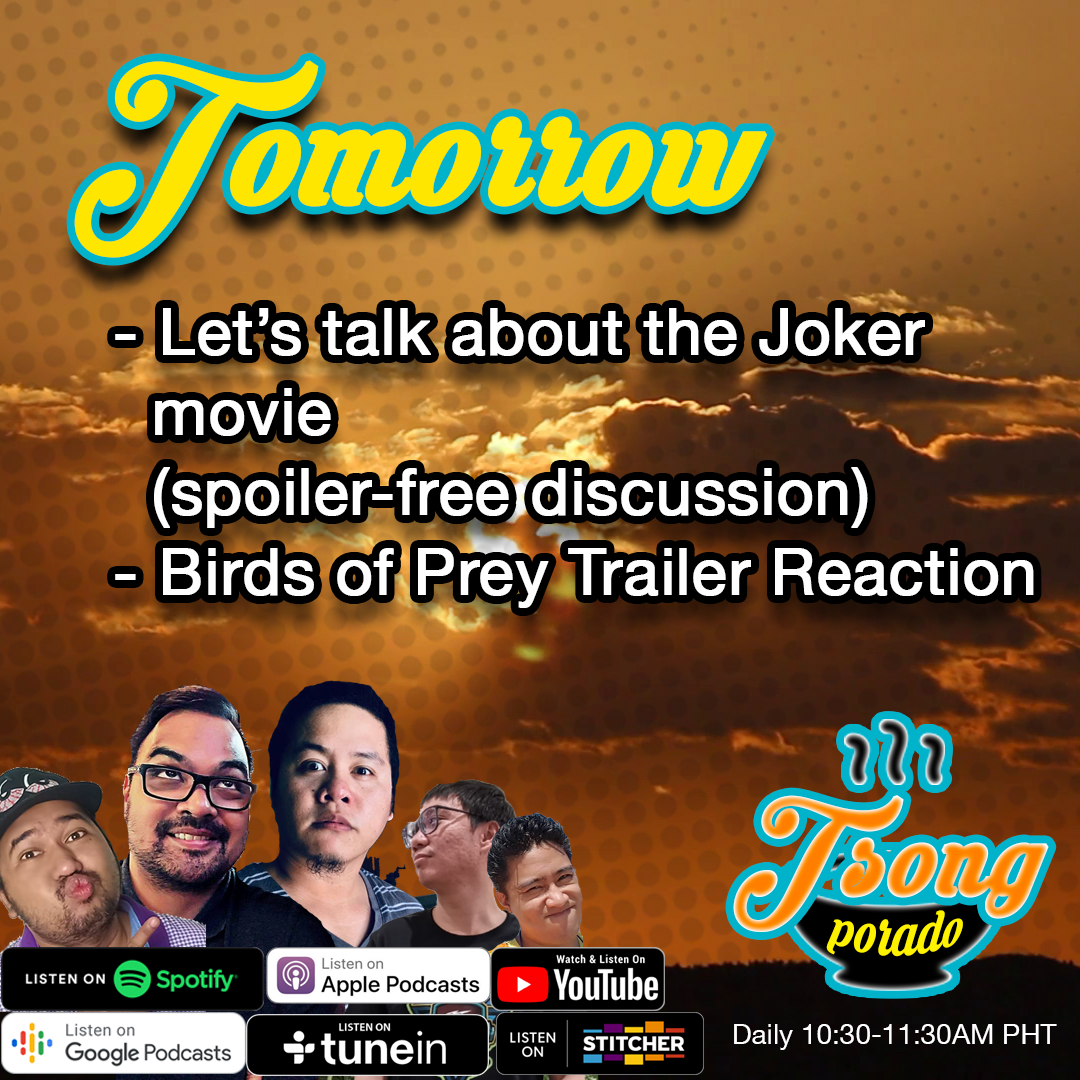 Ep. 12 - The Joker Review (spoiler-free) and Birds of Prey Reaction