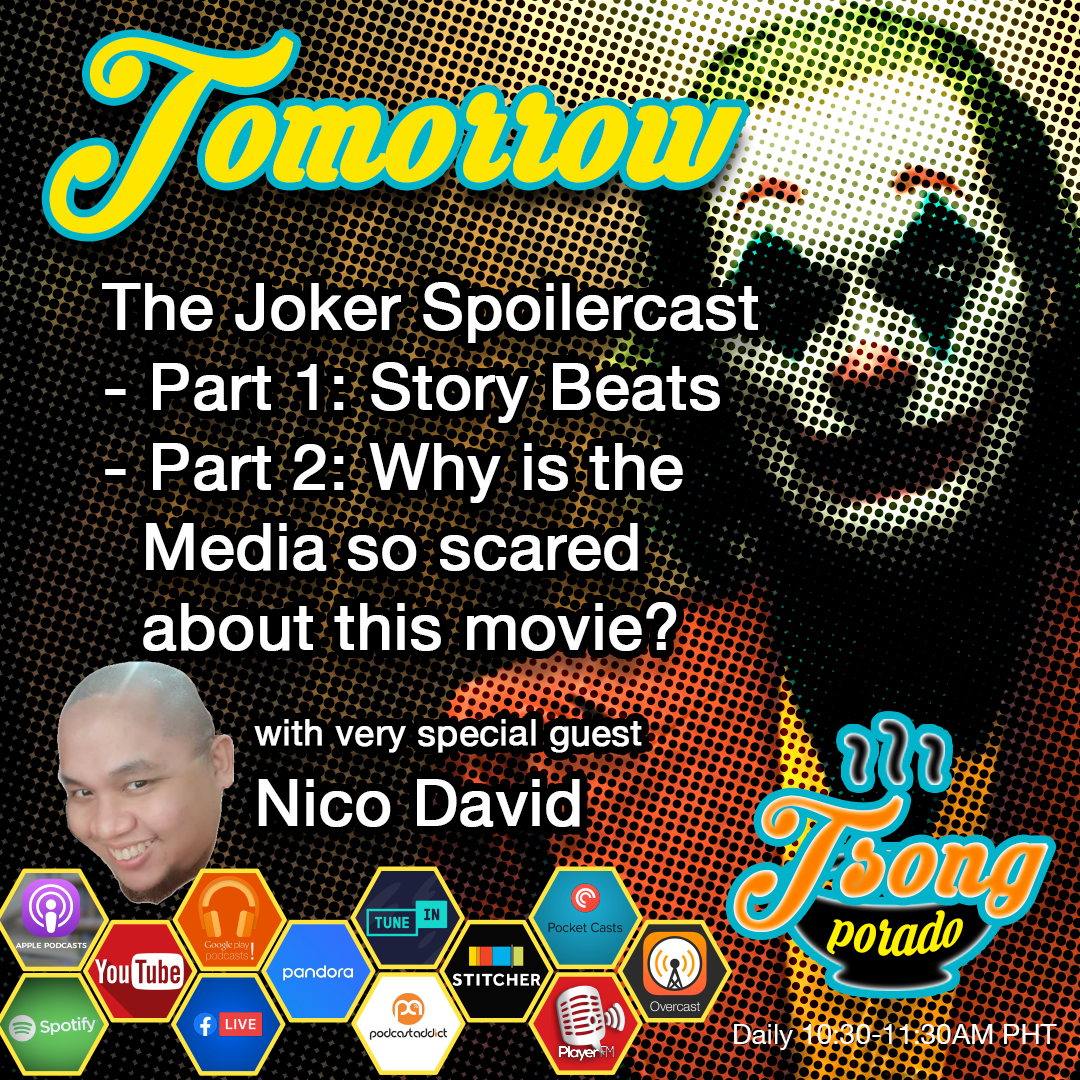 Ep. 17 - The Joker Movie Spoilercast (Part 1) Story Beats